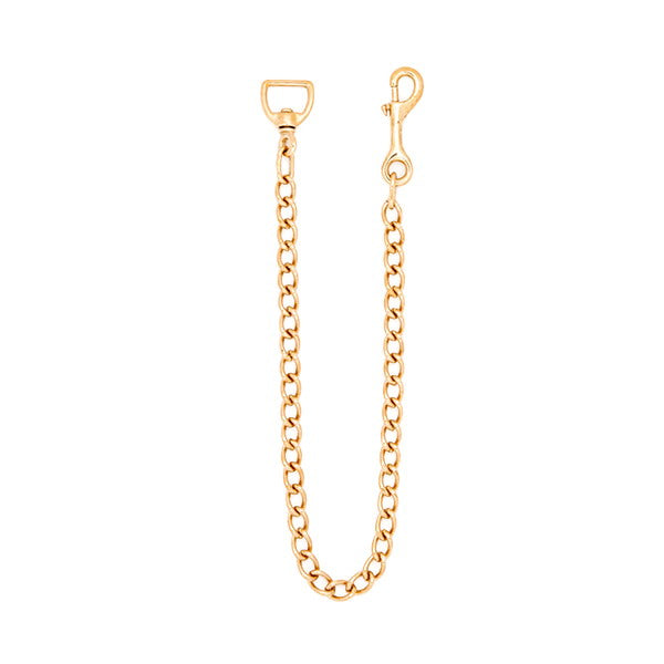 30 In Brass Lead Chain
