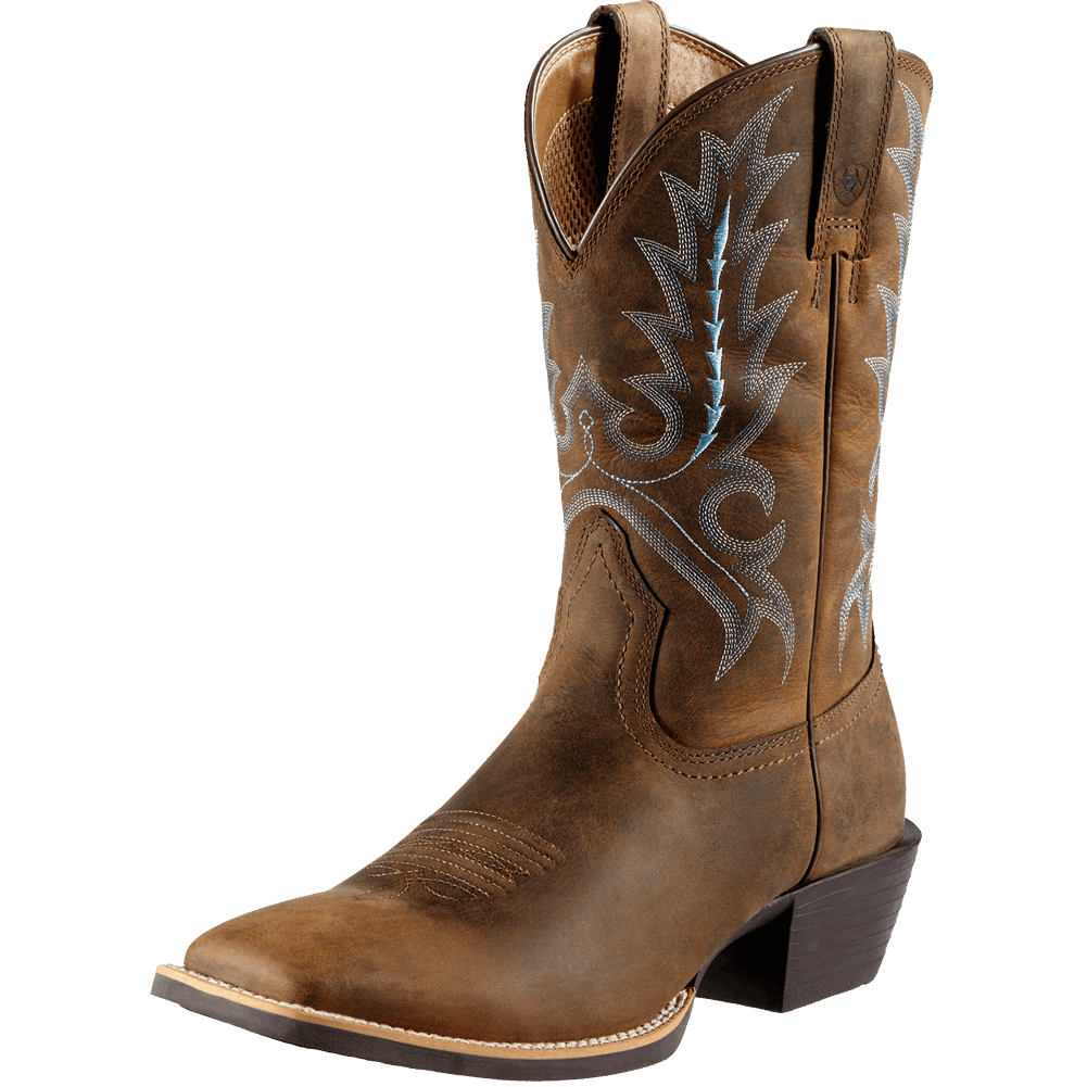 7.5D Sport Outfitter Pull On Boot Distressed Brown