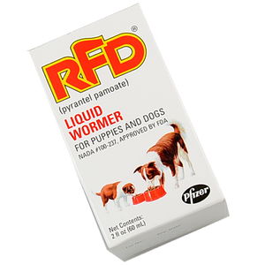 Rfd Dog Liquid Wormer 60cc