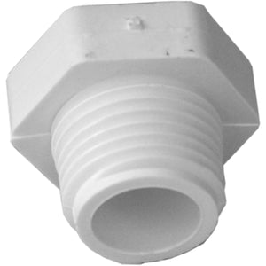 1/2in Pvc Threaded Plug