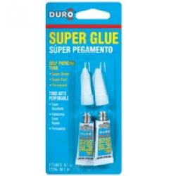 Duro Super Glue 2pk         12