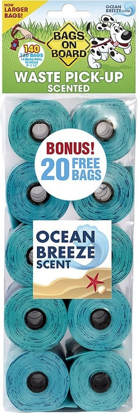 Bags on Board Scented Refill Pack 140-ct