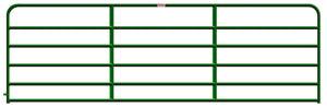 Behlen 14-Foot 1-5/8 Utility Gate Green