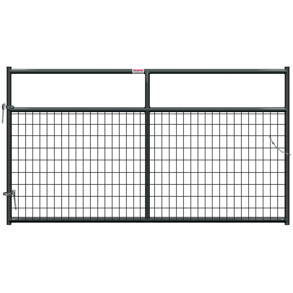 Behlen 8-Foot 1-5/8 Wire-Filled Gate Gray