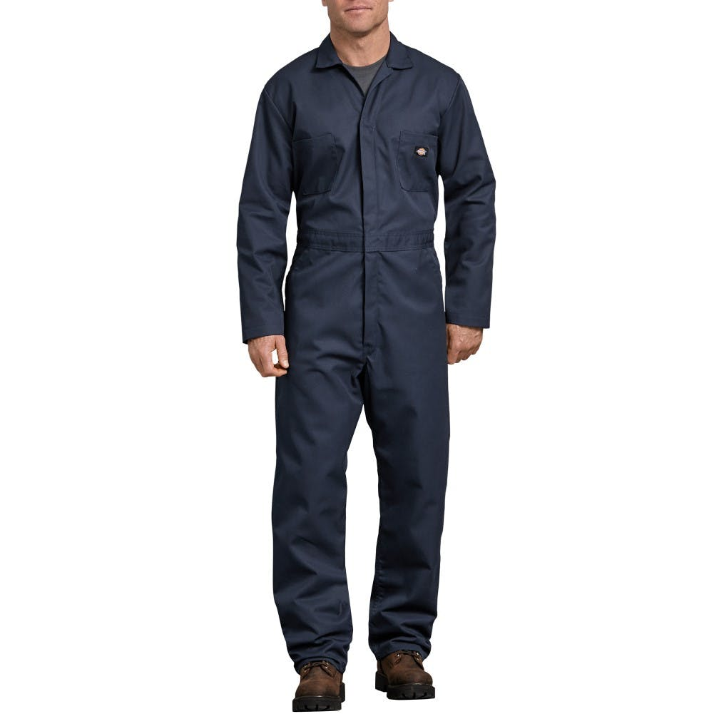 Sr L/s Coverall Dk Nvy