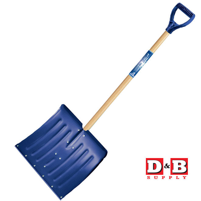 Aluminum Snow Shovel W Strip