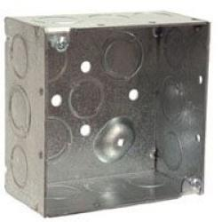 Outlet Box Steel            25