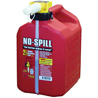 2.5-Gallon No Spill Gas Can
