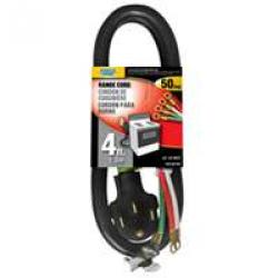 4ft 4-conductor Range Cord