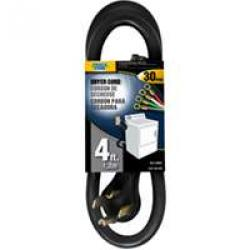 4prong Dryer Cord 4ft       12