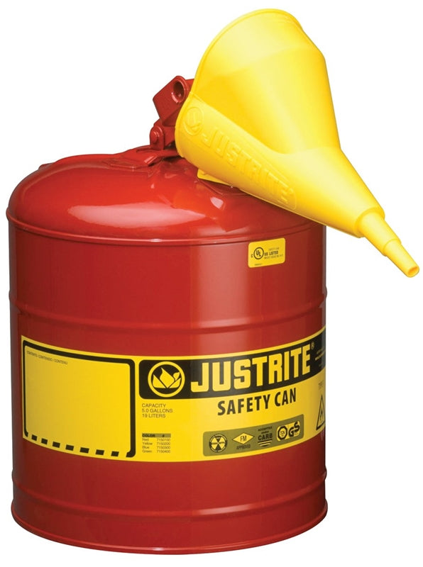 5-Gallon Type 1 Steel Gas Can