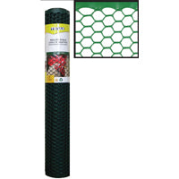 24in X 25ft 1in Gr Hex Netting