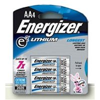 Energizer Lithium Aa 4pack   6