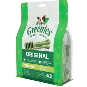Greenies Teenie Original Dental Dog Chews 12-oz, 43 count