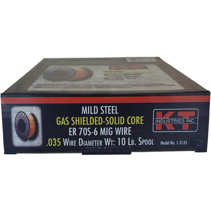 Gas Shielded-Solid Core Mig Welding Wire .035  10lb