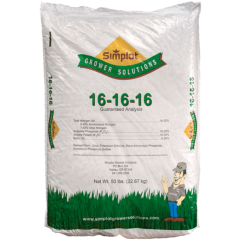 Simplot 16-16-16 Fertilizer 50lb
