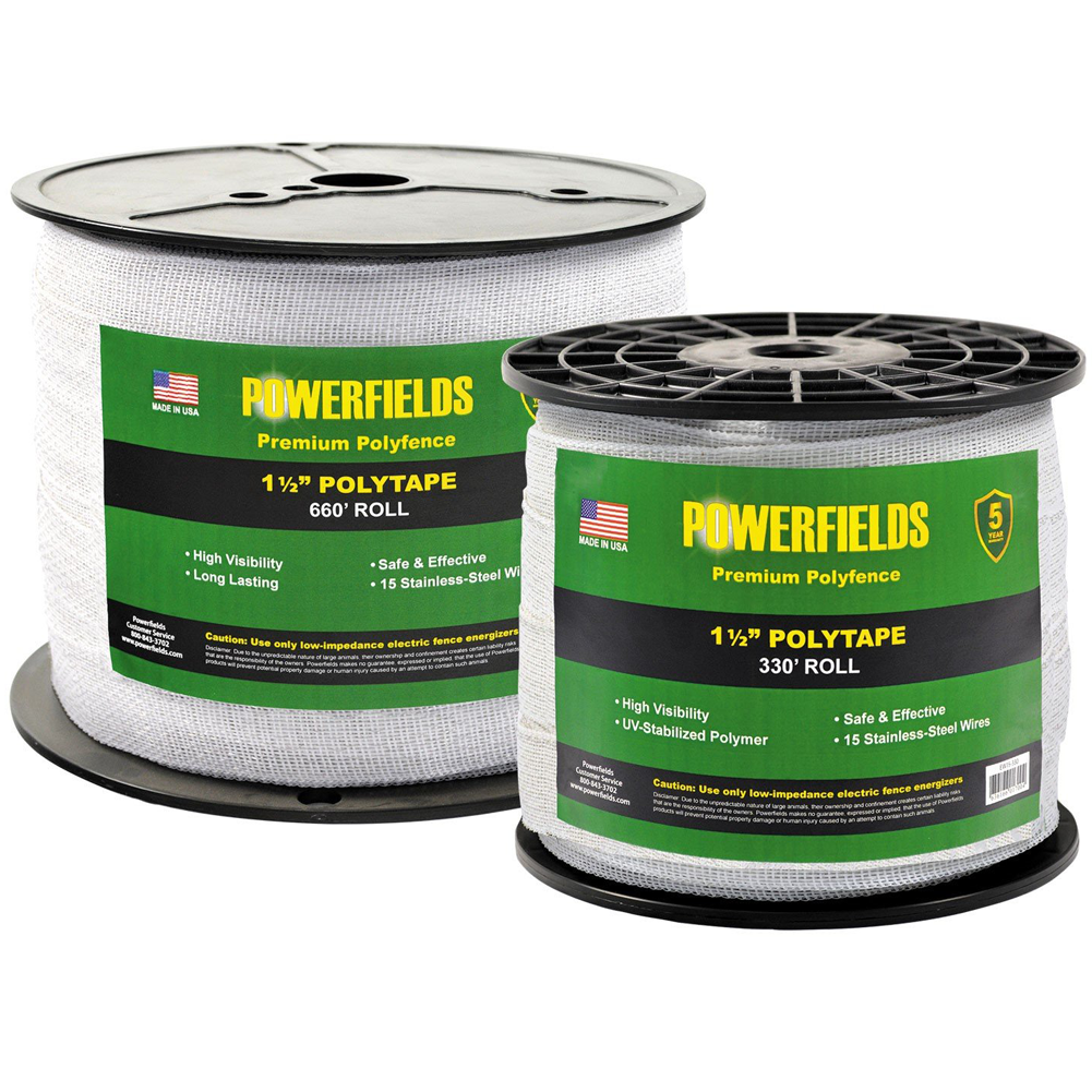 Powerfields 1-1/2in Polytape 660 Feet
