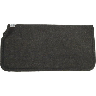 Diamond Wool 30x30x3/8 Wool Felt Saddle Pad Liner Black