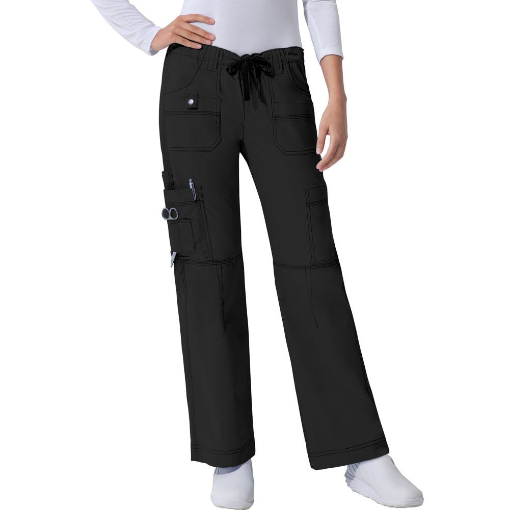 X-Small Genflex Youtility Scrub Pant Black