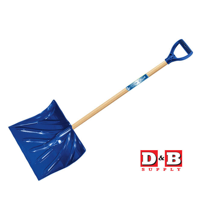 Poly Snow Shovel 18in