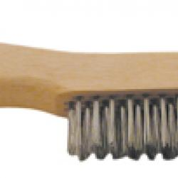 Shoe Brush W/ Scraper
