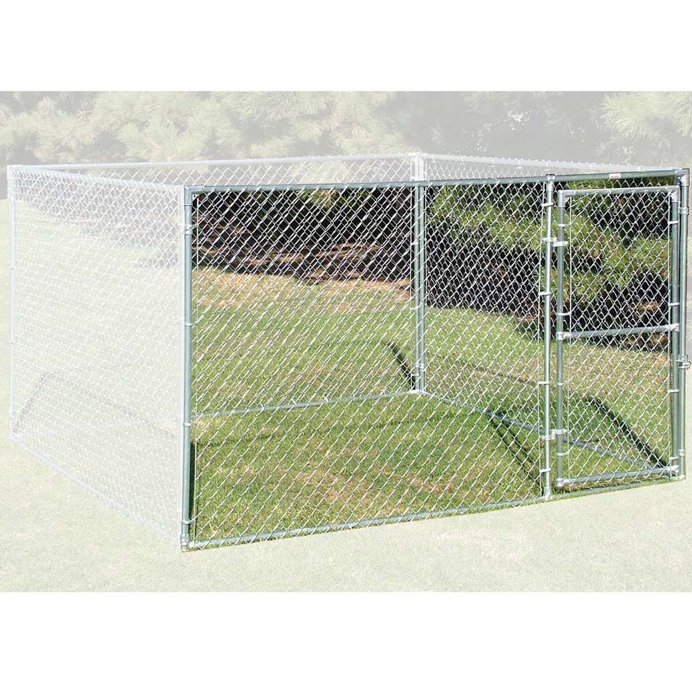 Behlen 10 x 6 Chain Link Kennel Fence Panel With Gate