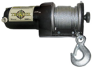 Keeper Corporation Winch 12VDC 2000-lb KT2000