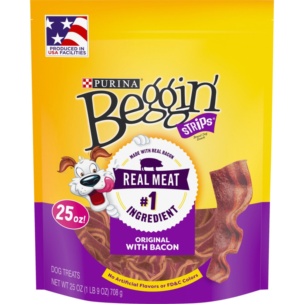 Beggin Strips 25oz Original With Bacon Dog Treats