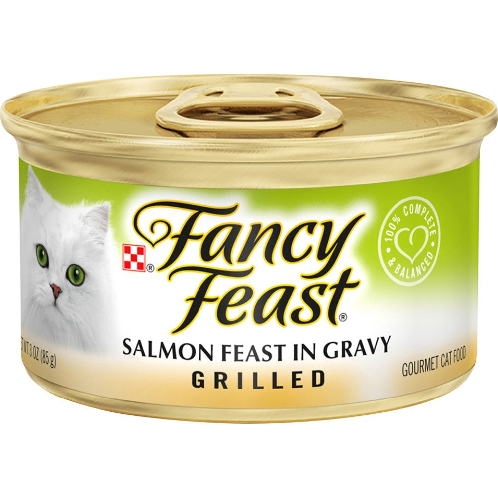 Fancy Feast 3oz Grilled Salmon Gourmet Wet Cat Food In Gravy