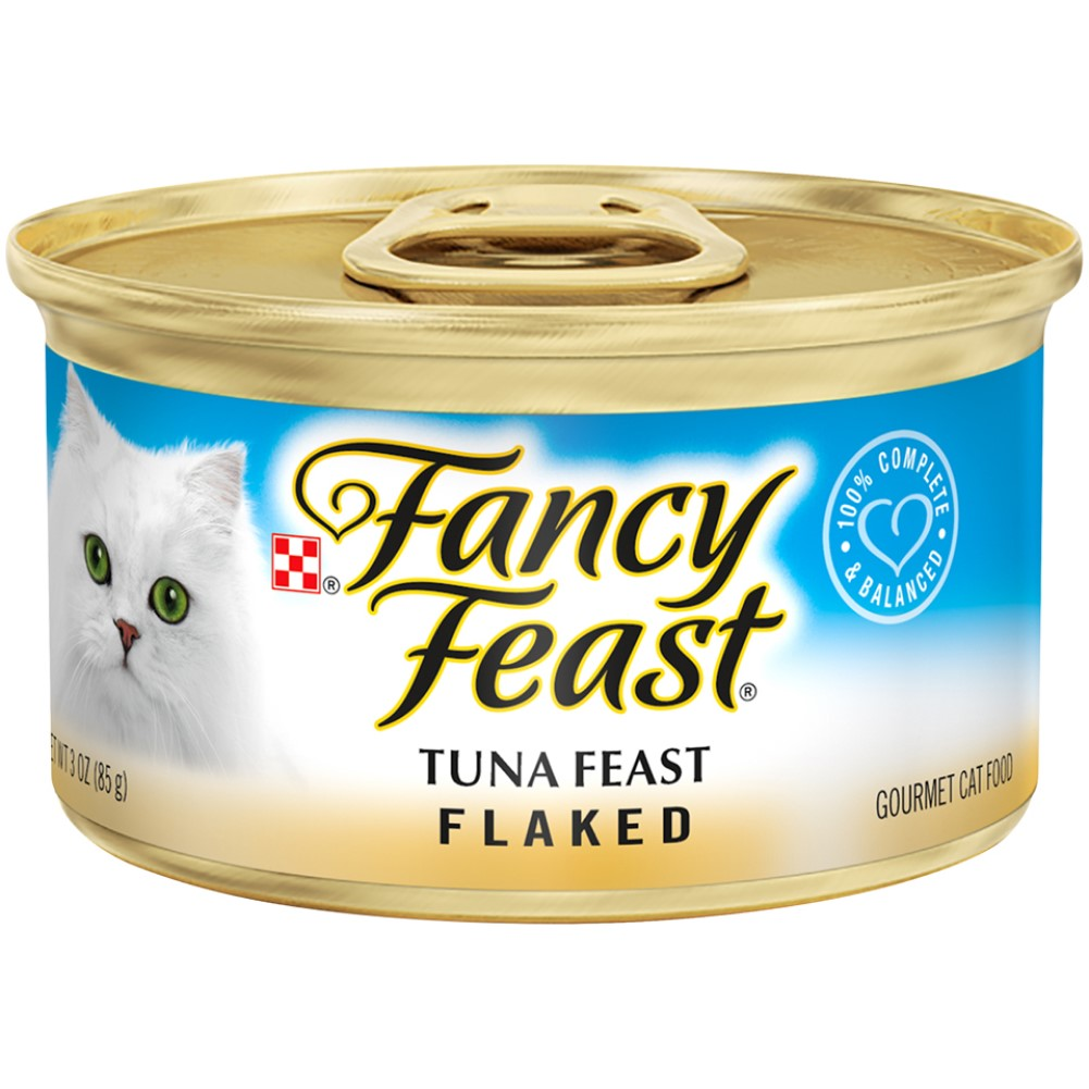 Fancy Feast 3oz Flaked Tuna Gourmet Wet Cat Food