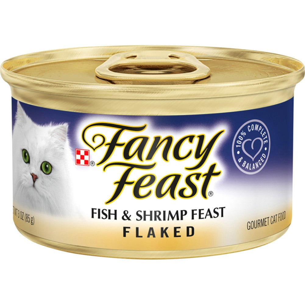 Fancy Feast 3oz Flaked Fish & Shrimp Gourmet Wet Cat Food