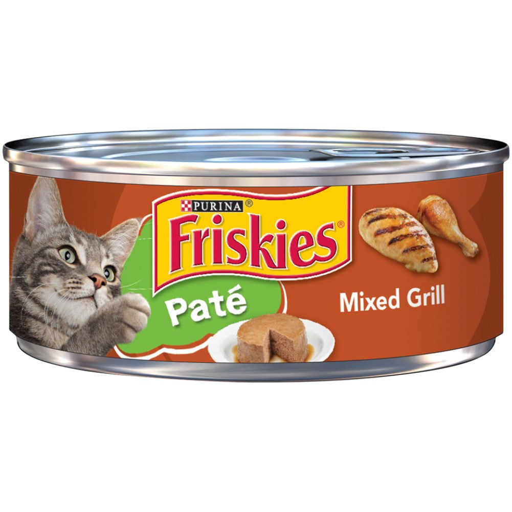 Friskies 5.5oz Pate Mixed Grill Adult Wet Cat Food