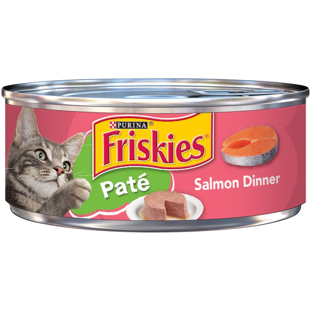 Friskies 5.5oz Pate Salmon Dinner Wet Cat Food