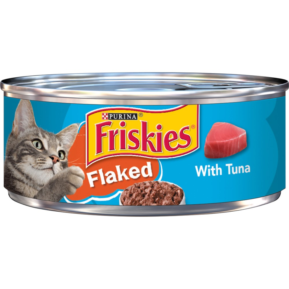 Friskies 5.5oz Flaked With Tuna Wet Cat Food
