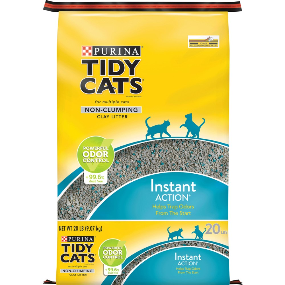 Tidy Cats Instant Action Non-Clumping Cat Litter 20lb
