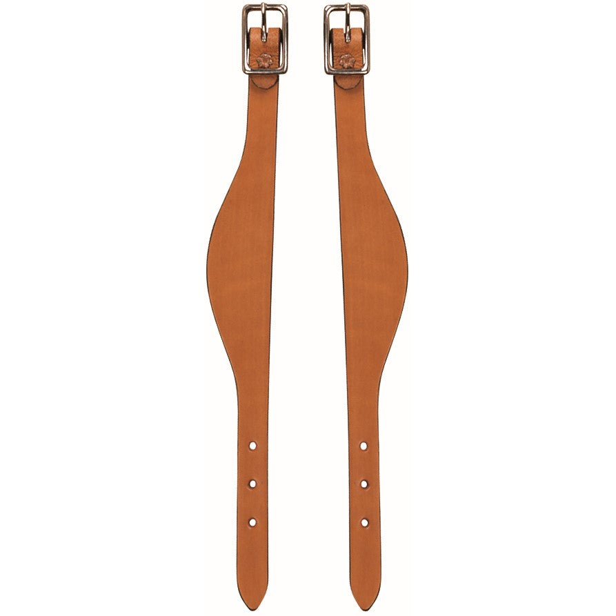 Bridle Leather Flared Fender Hobbles Honey
