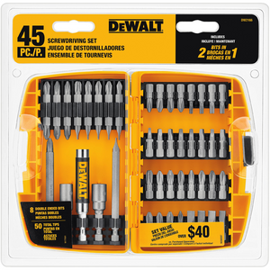 45pc Screwdriver Bit Set