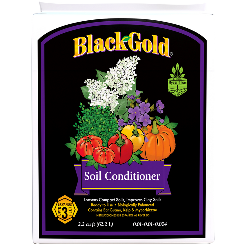 Black Gold Soil Conditioner 2.2 Cf