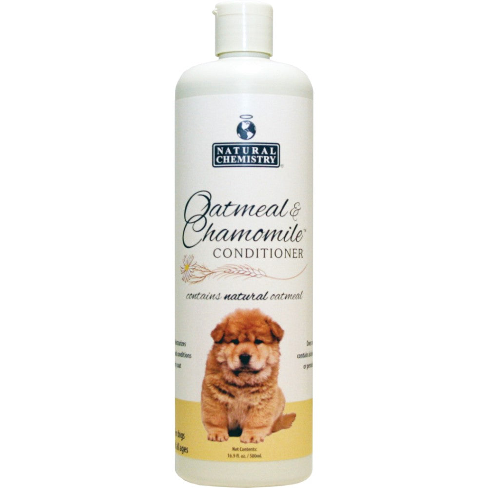 Natural Oatmeal & Chamomile Dog Conditioner 16oz