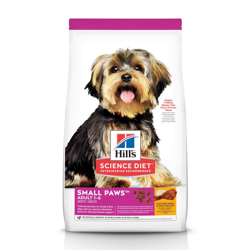 Science Diet Adult Small & Toy Breed Dog Food 15.5lb