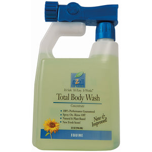 Weaver Leather Ezall Total Body Wash Green 32 oz