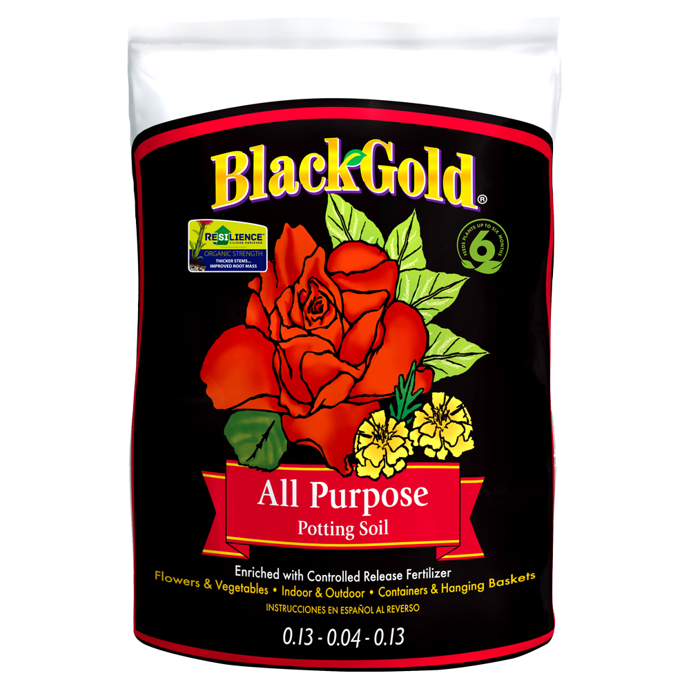 Black Gold All Purpose Potting Mix 1 Cf