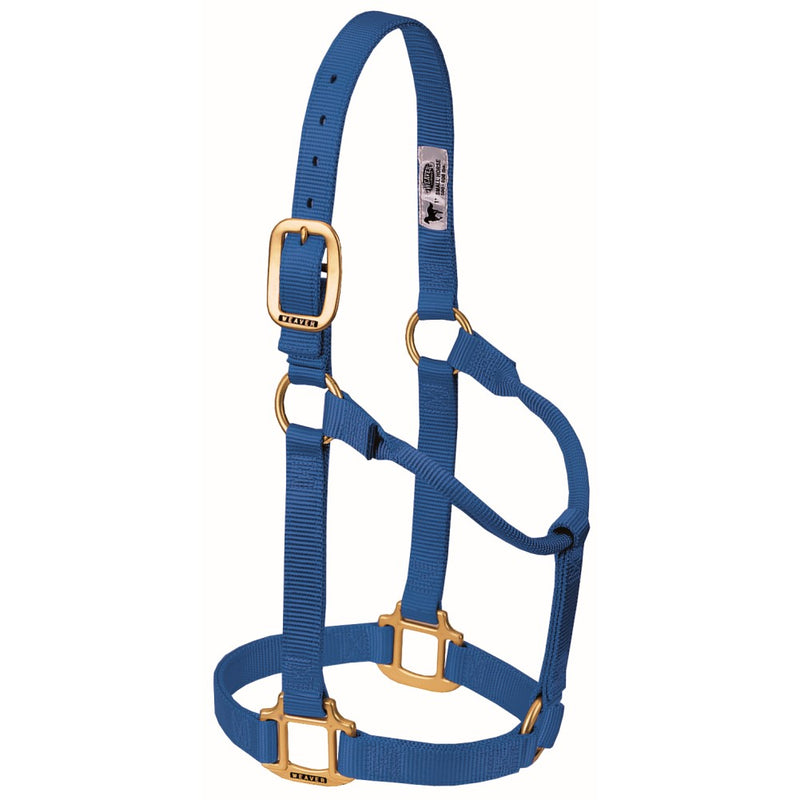 Original Non-Adjustable Halter Average Horse Blue