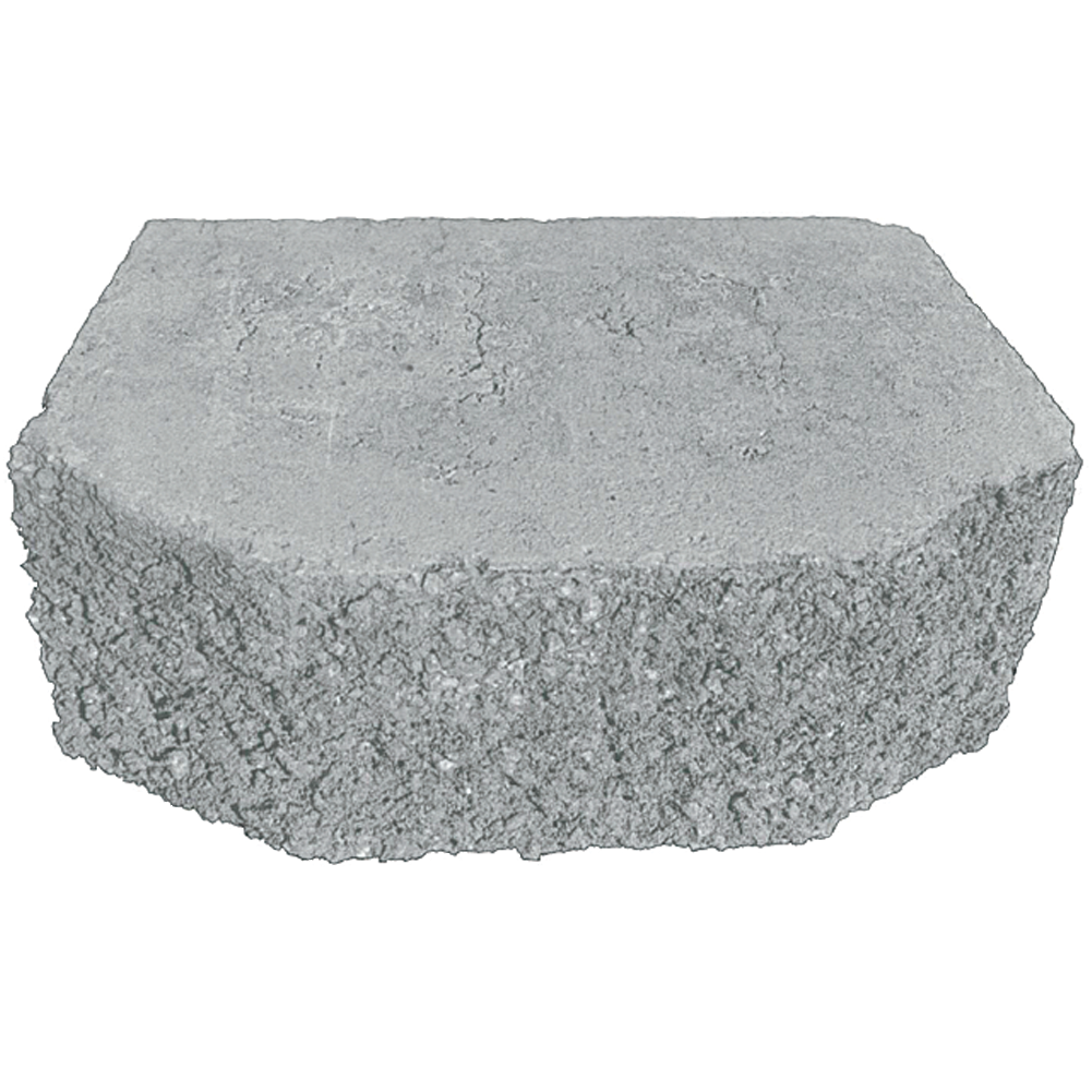 Basalite Terrace Wall Block - Grey