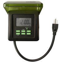 Outdoor 7 Day Digital Timer  6