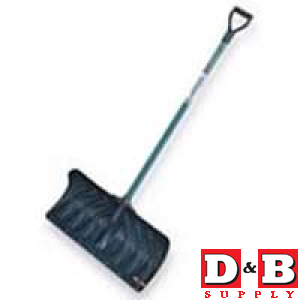 Snow Shovel Poly Pusher 24in