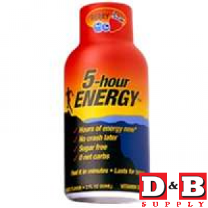 Berry Flavor 5 Hr Energy Drink