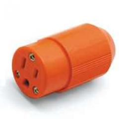 Orange Hi-vis Female Cord End5
