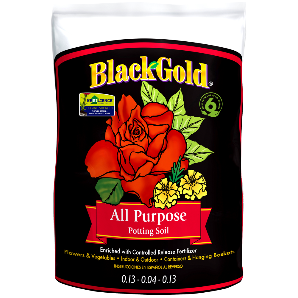 Black Gold All Purpose Potting Mix 8 Quart