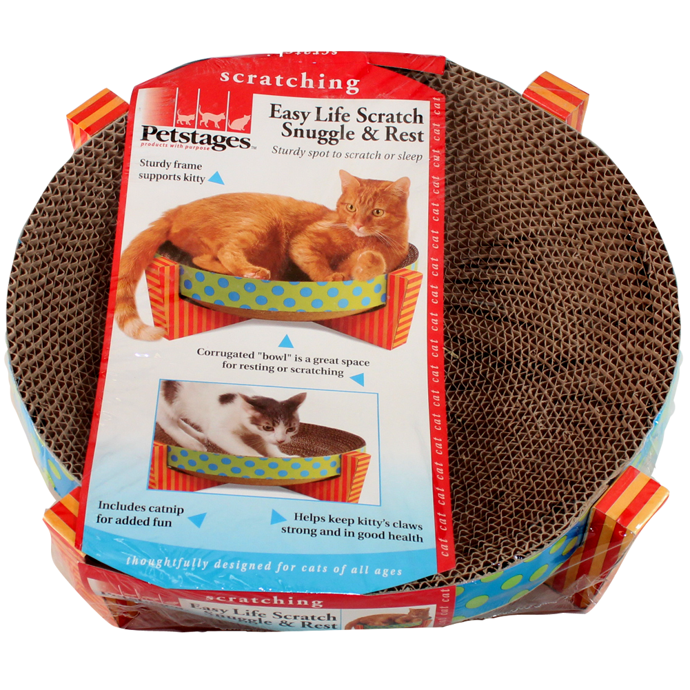 Petstages Easy Life Scratch Snuggle & Rest for Cats Scratcher